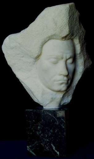 Aldo BARTELLETTI - Skulptur Volumen - Ludwig Van Beethoven