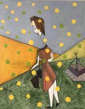 Abraham DAYAN - Painting - Cosette or et espérance