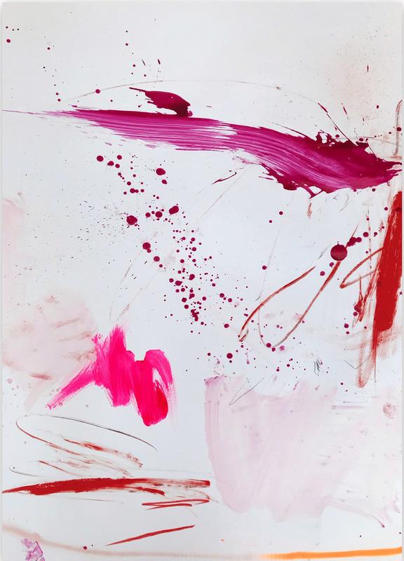 Manuela Karin KNAUT - 绘画 - Rosy cheeks and bubbly 4