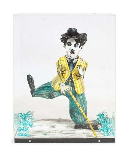 Red GROOMS - Estampe-Multiple - Charlie Chaplin