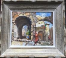 Gerhard MARCKS - Pintura - In the street
