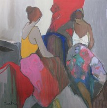Isaac TARKAY - Peinture - *Seated Women
