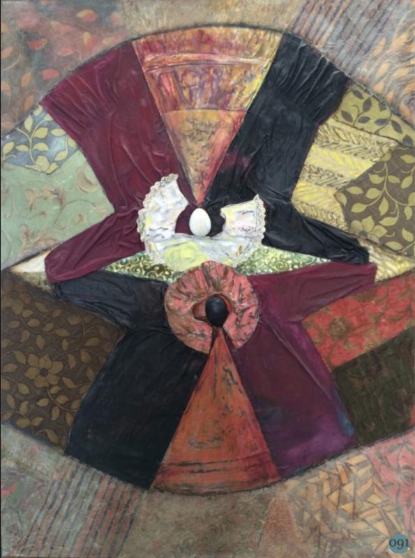 Bruno CECCOBELLI - Pintura - Così sopra così sotto