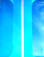 Jo DELAHAUT - Painting - azur