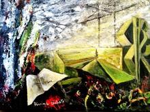 Divina SABATÉ - Painting - Ecología en el tiempo.