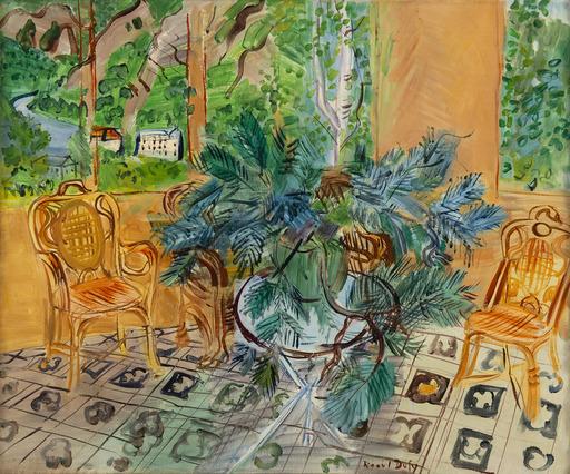 Raoul DUFY - Peinture - La terrasse à Vernet-Les-Bains