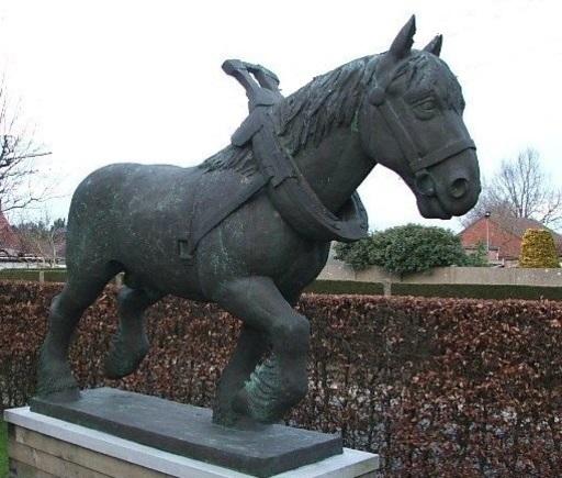 Ron DEBLAERE - Escultura - Kracht en Gratie (2/3 schaal)