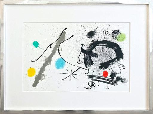 胡安·米罗 - 版画 -  Bouquet de rêves pour Neila II