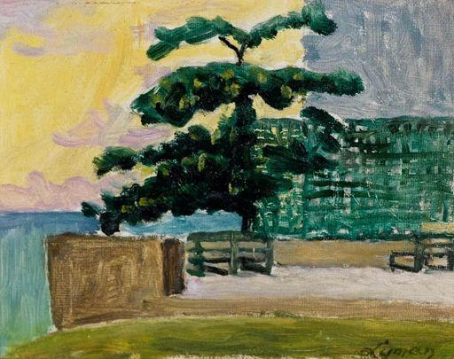 John Goodwin LYMAN - Painting - Hastings Rocks, Barbados