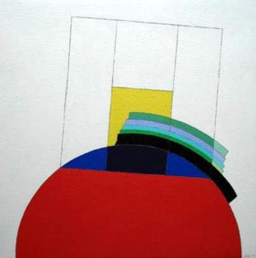 Eugenio CARMI - Painting - Sarebbe bello se fosse cosi