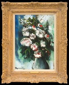 Maurice DE VLAMINCK - Pittura - Le Vase aux Astres