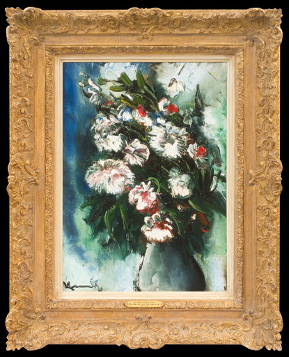 Maurice DE VLAMINCK - Painting - Le Vase aux Astres