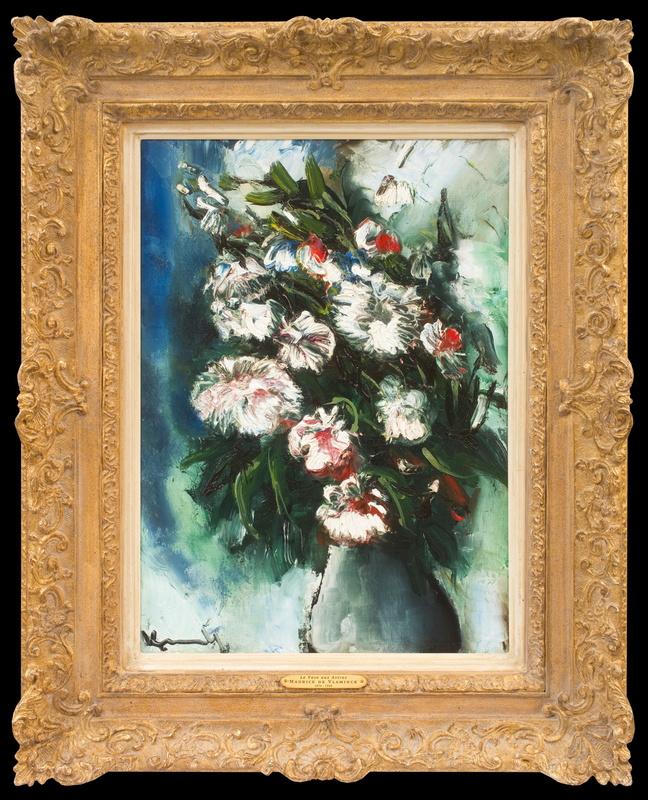 Maurice DE VLAMINCK - Gemälde - Le Vase aux Astres