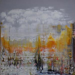 Harry James MOODY - Peinture - Wonder What an Old Master Would Think n°516