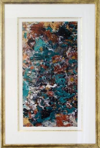 Alexandre ISTRATI - Drawing-Watercolor - Composition Teal