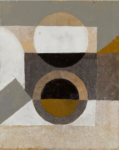 Jeremy ANNEAR - Painting - Ideas Series (Eclipse IV)