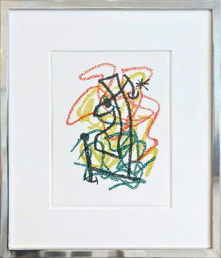 胡安·米罗 - 版画 -  Bouquet de rêves pour Neila IV