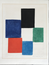 Sonia DELAUNAY-TERK - Print-Multiple - Avec moi-meme - Plate 6