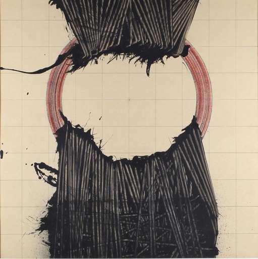 Emilio SCANAVINO - Painting - Alfabeto senza fine