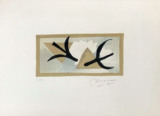 Georges BRAQUE - Print-Multiple - Les Martinets