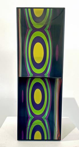 Julio LE PARC - Sculpture-Volume - Cercles par déplacement