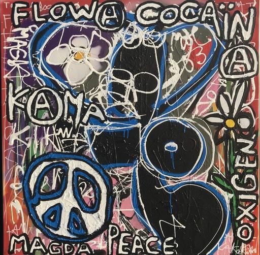 KOKIAN - Pintura - Magda Peace(Oxygen)