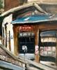 Takanori OGUISS - Painting - La rue Bemont à Genève café des trois-perdrix