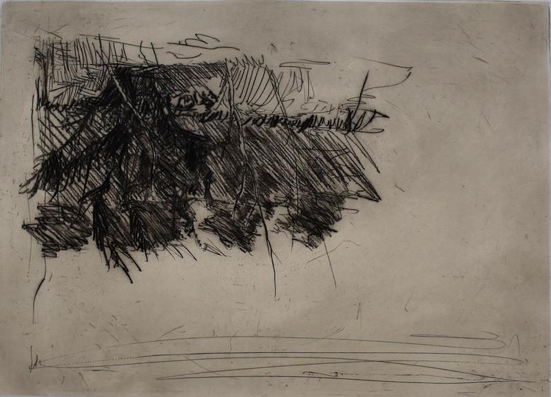 乔治•巴塞利茨 - 版画 - Composition III, from: One Week | Eine Woche