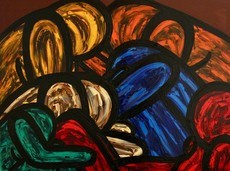 Francesco RUSPOLI - Peinture - Which one is my Lover ?    (Cat N° 6136)