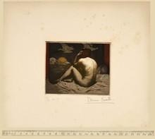 Bruno CROATTO - Print-Multiple - Nudo femminile di schiena