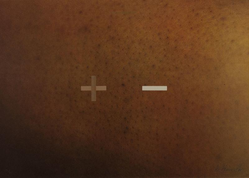 "Antonio DIAS - Druckgrafik-Multiple - Senza titolo da ""The illustration of the art"""