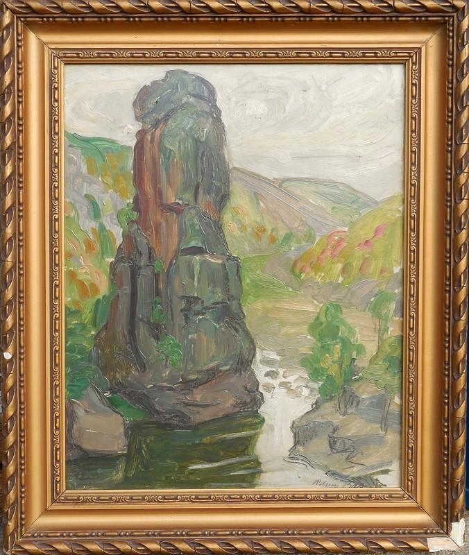 Adrien BAS - Pintura - LA ROCHE PEREANDRE - ANNONAY - ARDECHE