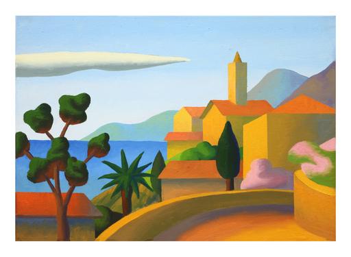 SALVO - Painting - San Nicola Arcella