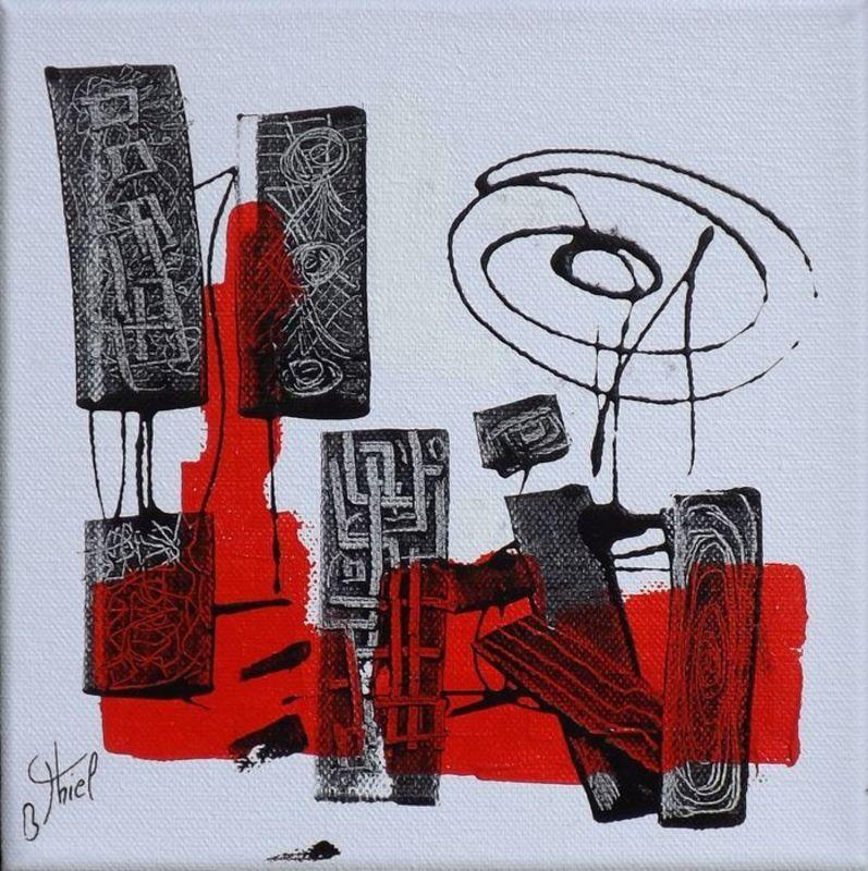 Benoit THIEL - Painting - CURE 2