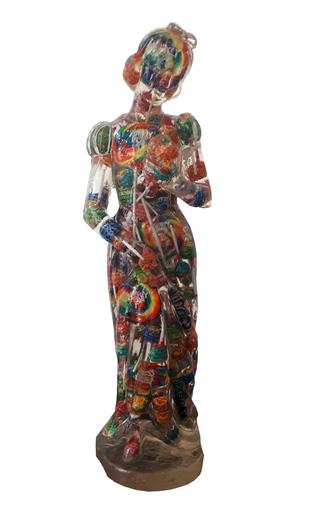 ALBEN - Skulptur Volumen - Blanche Neige Lollipop