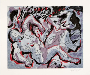 André MASSON - Print-Multiple - Sans titre