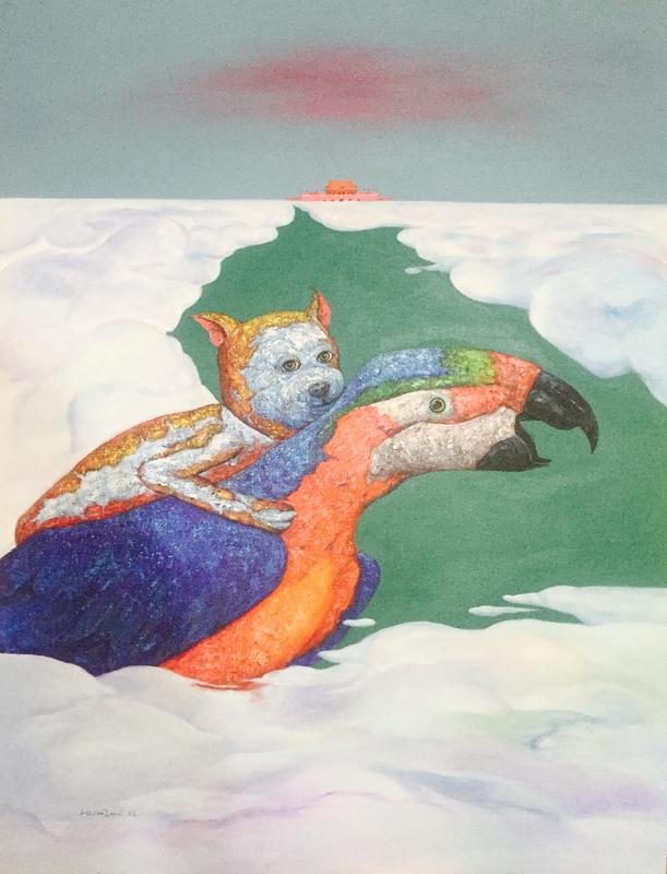 TANG Hai Guo - Peinture - 翱翔
