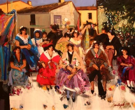 Philippe MONTEAGUDO - Gemälde - Jueves de fiestas