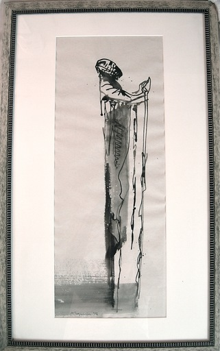 Nicolas ALQUIN - Zeichnung Aquarell
