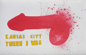 Jim DINE, Kansas City There I Was