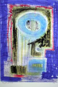 Marc ADRIAN - Dibujo Acuarela - Das gute gedachte