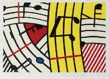 Roy LICHTENSTEIN (1923-1997) - composition iv