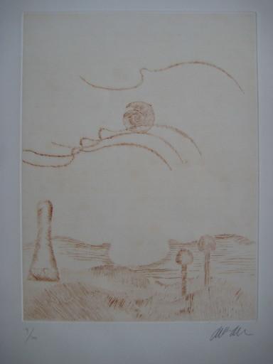 Fernandez ARMAN - Stampa-Multiplo - GRAVURE 1976 SIGNÉE AU CRAYON NUM/100 HANDSIGNED NUMB ETCHIN