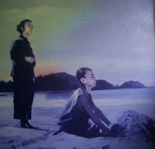 JIANG BO - Painting - Waiting