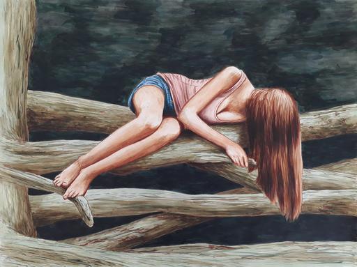 Erlend STEINER LOVISA - Painting - Floor 7    (Cat N° 6341)