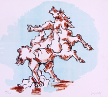 Jacques LIPCHITZ - Estampe-Multiple - The Horse/Prometheus,