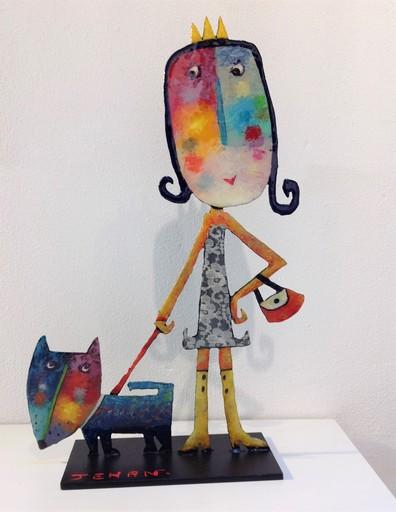 Christophe JEHAN - Escultura - Reine du shopping