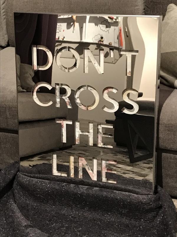 JOSEPH - Scultura Volume - Don't Cross The Line