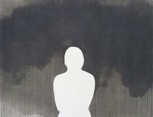 Doroteo ARNÁIZ - Grabado - Portrait on Black Background