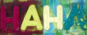 Mel BOCHNER - Peinture - Ha Ha